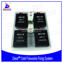 4 in 1Stage Ice Fountain Cold Fireworks Firing System