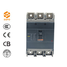 Outdoor EZC 100 amp 1p 2p 3p 4p moulded case circuit breaker with electrical switch, top circuit breaker SSPD^