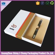 Alibaba Trade Assurance pen packaging box,luxury cardboard packaging box for pen