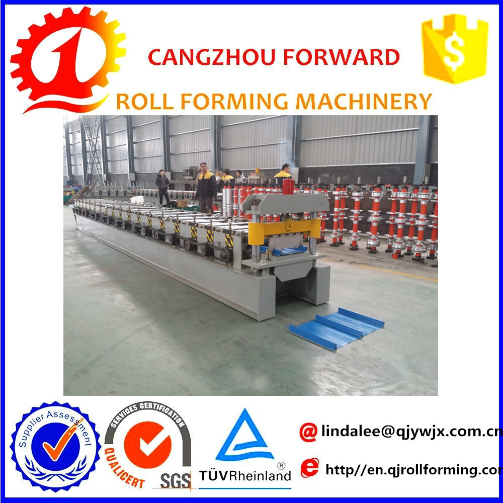 steel frame structure metal roofing sheet molding machine