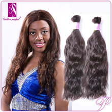 Indian Sexy Women Natural Wave Remy Human Bulk Stickers Hair