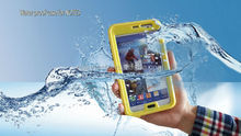 2014 New Products Wholesale Cheap Mobile Phone Waterproof Case for Samsung Note 3 Note 2 with button