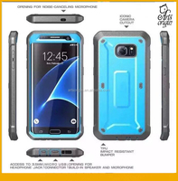 Case for Samsung Galaxy S7 Full-body Rugged Holster Unicorn Beetle Phone case Blue