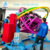 game machine for kids and adult amusement park human gyroscope ride space ring