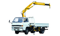 XCMG Small Knuckle Truck Mounted Crane For Sale