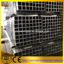 galvanized steel square tube/mild steel square tube size/hollow section steel pipe for table