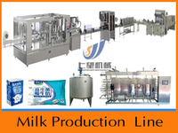 China made customized turnkey dairy drinks products processing line