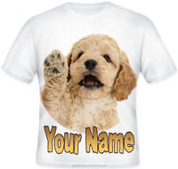 2015 Latest Shirt Designs For Boys&O-Neck Kids Plain White Cotton T-shirts&Cute dog printed t shirt