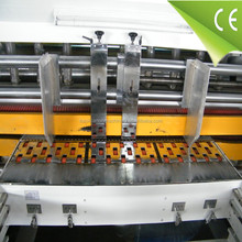 good quality for corrugated carton board multicolor water transfer flexo printer slotter and die cutter with stacker machine