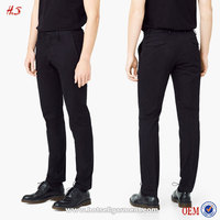 High Quality Wholesale China Goods By Clothing Factory For Black Cool Man Trousers