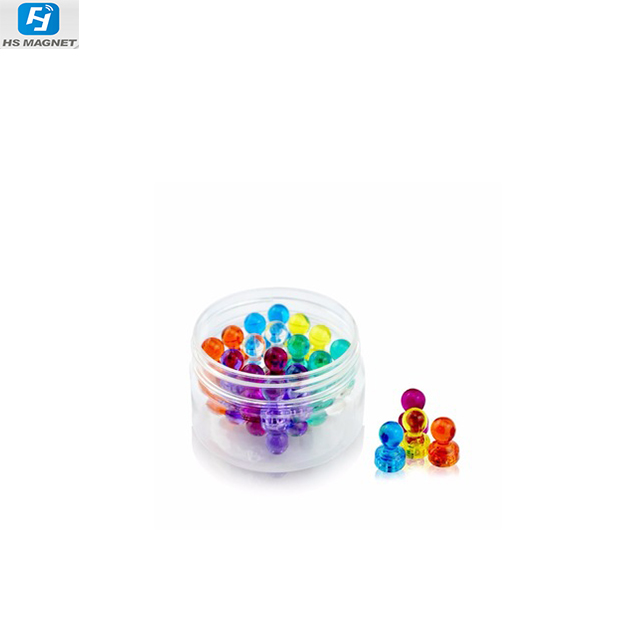 High Quality Colorful Push Pin Magnets For Maps Or Papers