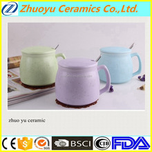 Sublimation Ceramic Coffee Mug with Cover