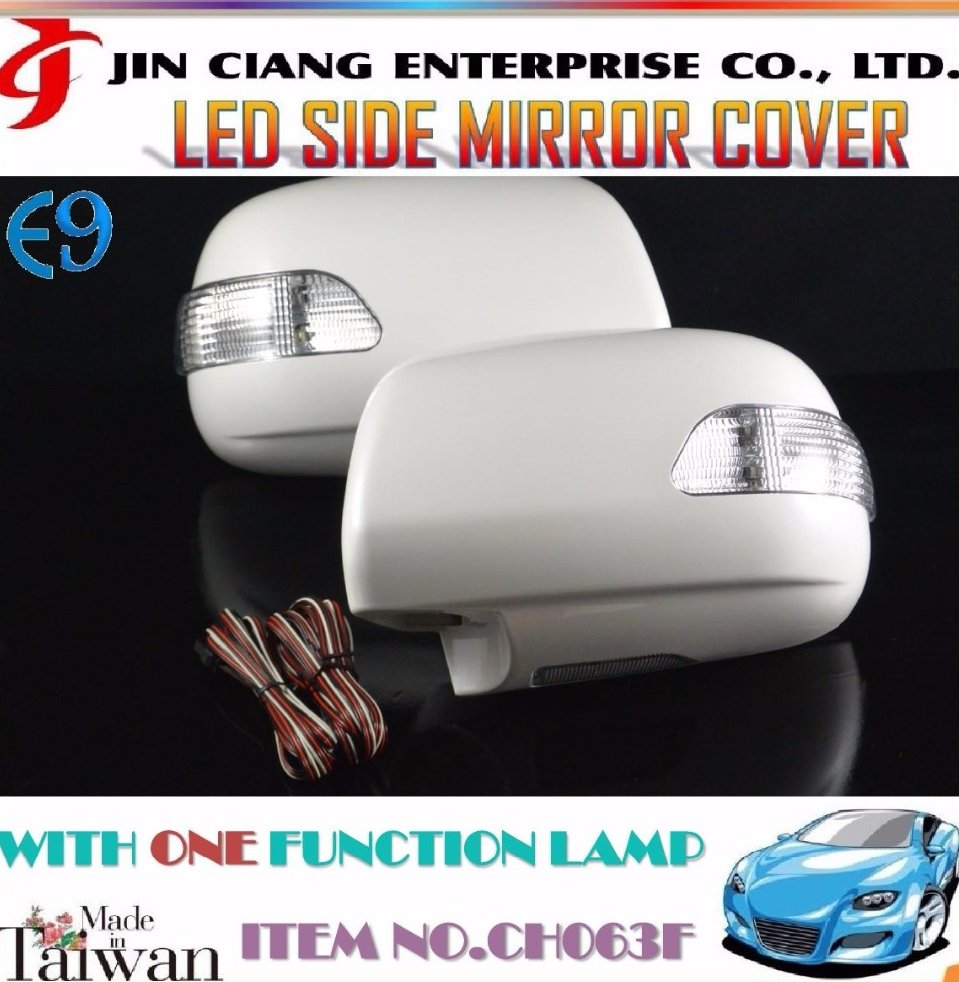 Car Body Parts LED SIDE MIRROR COVER For TOYOTA PRADO JAPAN HIACE