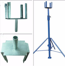 adjustable steel shoring prop and push pull prop for construction and scaffolding building