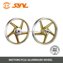 gold paint motociclo alloy wheels made in china