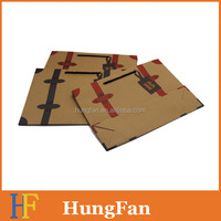 Fashion Style Kraft Paper Shopping Bag with Logo Printing