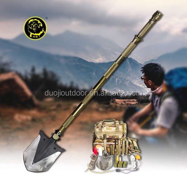 Outdoor Camping Equipment Self-driving Vehicle Accessories Multifunction Shovel