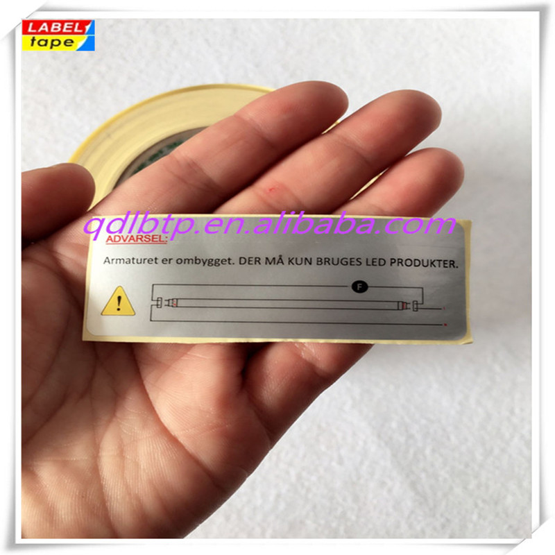 Cheap high quality heat resistant label sticker