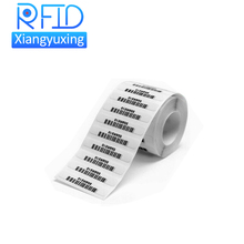 EPC C1 GEN2 uhf 860-960mhz long read range alien 9662 adhesive rfid label / uhf sticker manufacturer