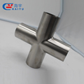 Stainless steel welding cross/stainless steel cross/sanitary cross