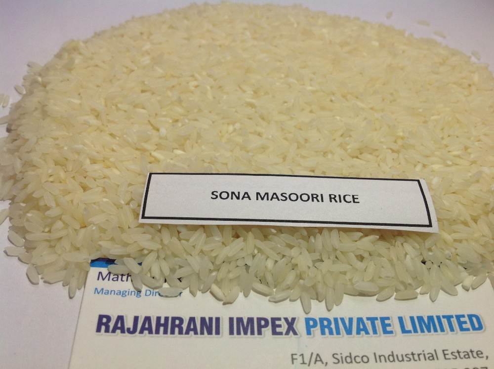 GOOD QUALITY SONA MASOORI RICE IN EXPORTERS TO USA