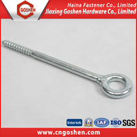 New design fashion stainless steel hook eye screw