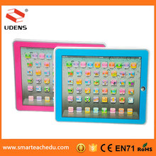 China Suppliers Education Toy Stores , Very Cheap English Learning Machine Learning Pad For Christmas 2015
