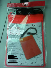 eco-friendly ipad transparent PVC waterproof bag