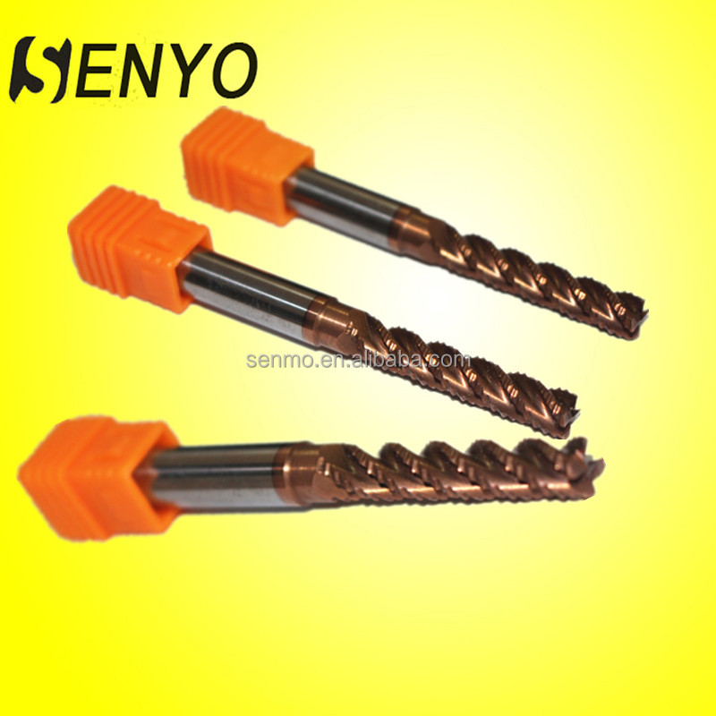 Senyo carbide gear hobbing cutter and mill/lathe tool sets for metal