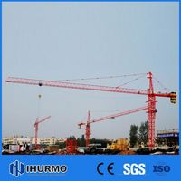 Advanced topless tower crane flat top tower crane flathead