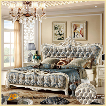 8808 2016 royal luxury bedroom furniture italian leather bed