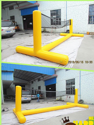 High Quality Guarantee Inflatable Volleyball Field For Sport Game