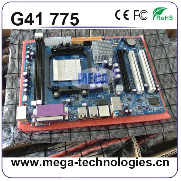 2016 Top-sale LGA775&LGA771 CPU ddr3 G41 dual socket 775 motherboard
