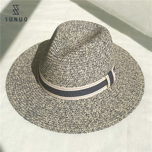2017 Fashion Eco-friendly Paper Material Mexican Wide Brim Straw Hat
