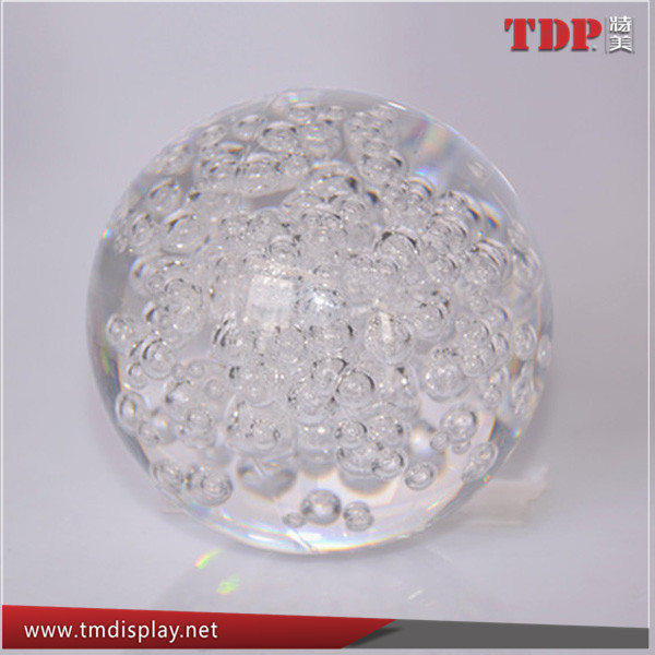 Factory Directly Custom Clear Colorful 100MM Diameter Acrylic Bubble Balls for Decoration
