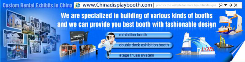 Trade show exhibition booth equipment trade show booths