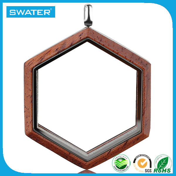 New Products 2016 Wood Pendant Locket