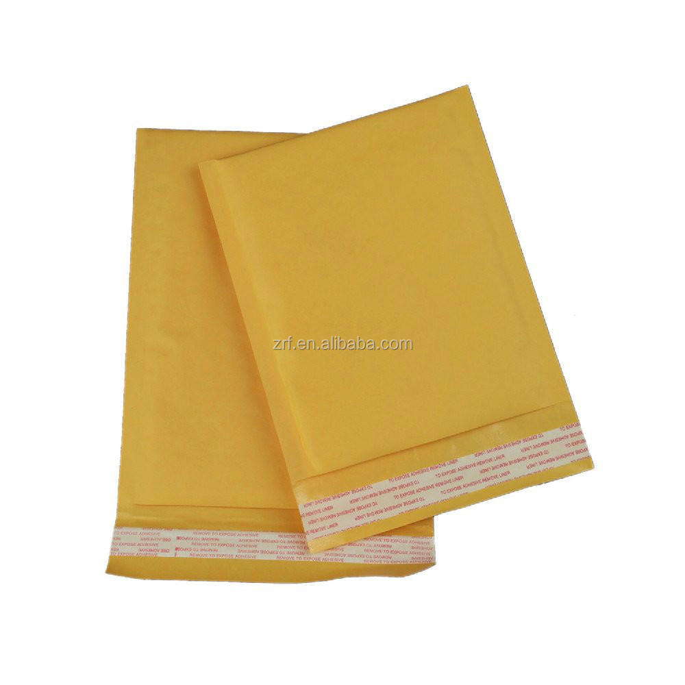 Wholesale China factory Custom Kraft Paper Bubble Envelopes printing
