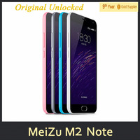 0510 Meizu M2 Note 4G LTE Cell Phones Android 5.0 MTK6753 Octa Core 1920x1080 2GB RAM 13.0MP Camera Cell Phone