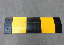 Heavy rubber speed bump road saftety speed hump