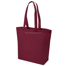 Purple PP non-woven shopping bag 100gsm