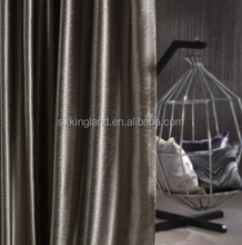 luxury curtain rods Velvet curtain wall drapes for party