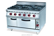 Commercial fast food restaurant Gas Burner, Gas Oven