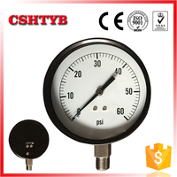 Top selling products in alibaba bottom connection pressure meter