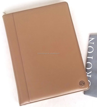 New A4 Folio Organiser Leather Holder Writing with Folio
