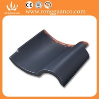 black style matt finish roof tile