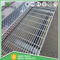 the stainless steel concrete steel grating/galvanized steel grating walkway