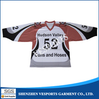 colorful sublimation hockey jersey