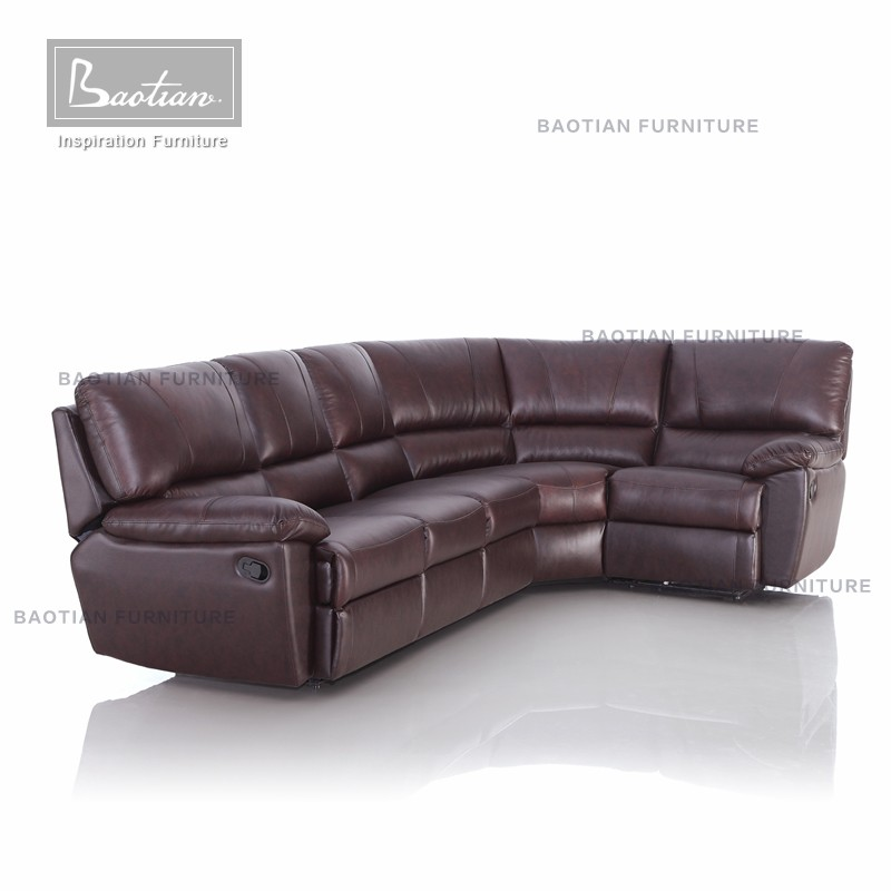 Modern home theater leather seating lazy boy sofa recliner Leather lazy boy sofa