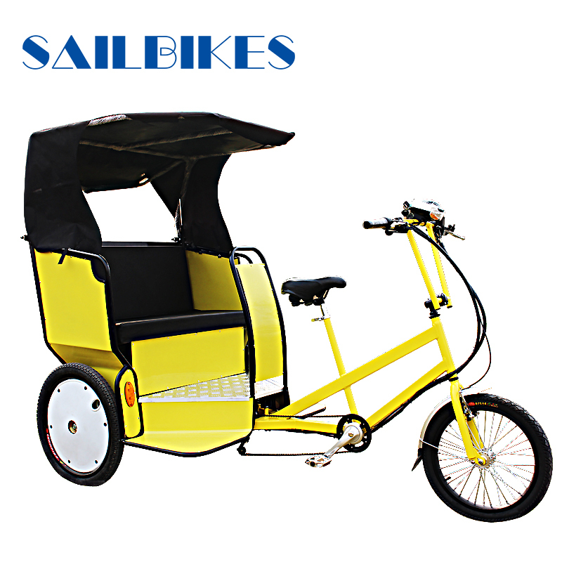 Three wheels adult pedal tricycle